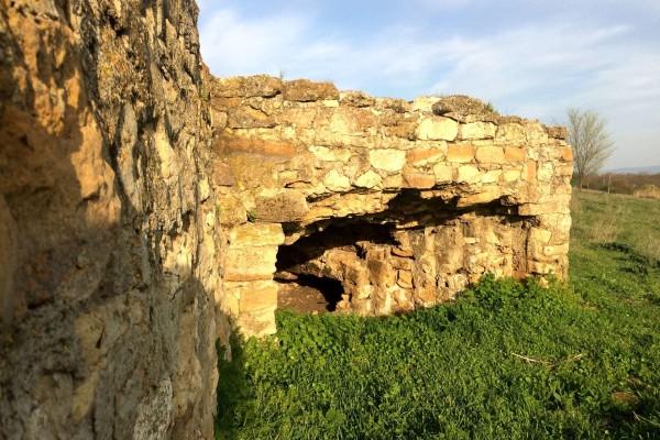 Каменный дот времён ВОВ в станице Филимоновской