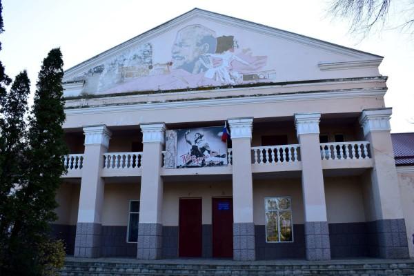 Дом культуры в селе Сергиевском