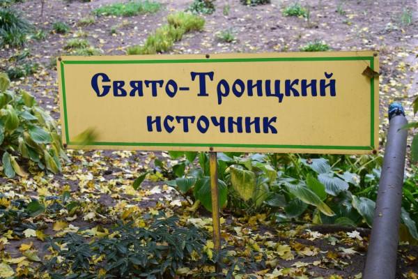 Свято-Троицкий источник