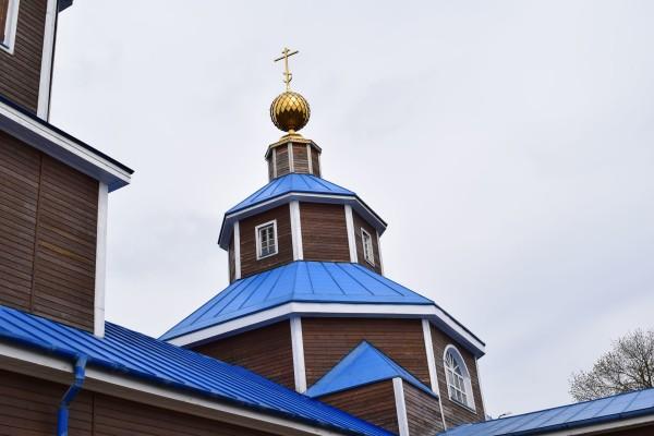 Деревянная Никольская церковь