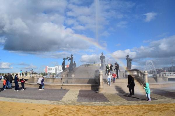 Светомузыкальный фонтан