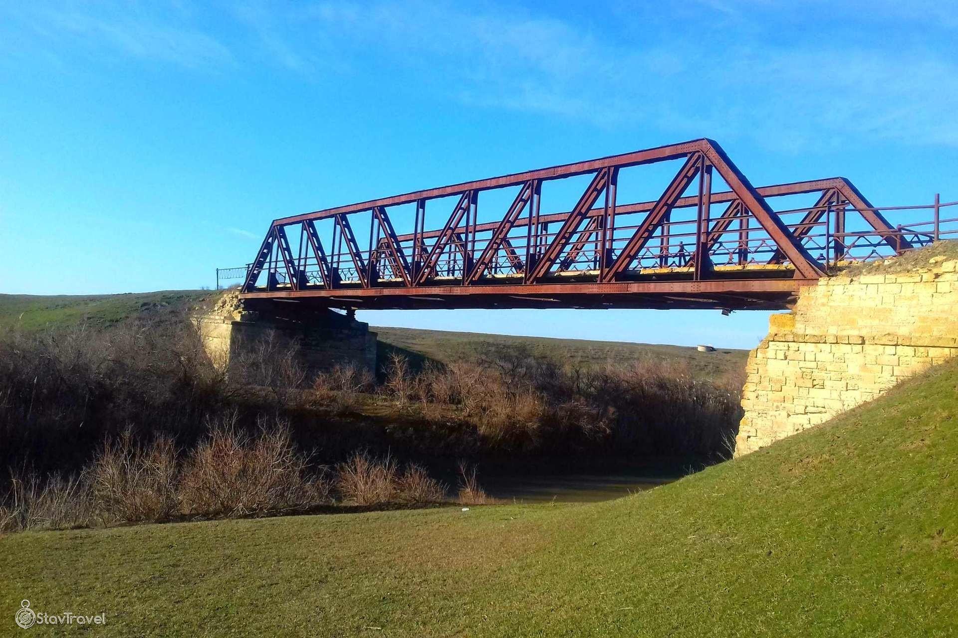 Старый мост в селе Вознесеновском
