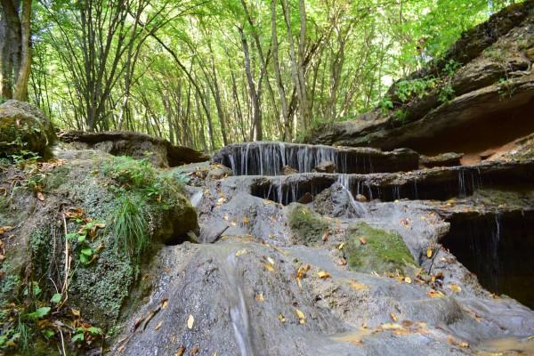 Травертиновый водопад