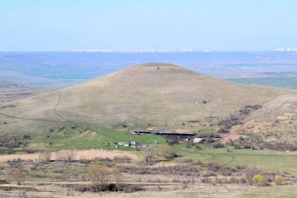 Гора Недреманная и ее окрестности