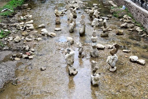 Балансирующие камни на р.Ольховка