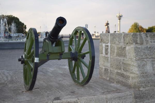 Памятник солдату- красноармейцу на Крепостной горе