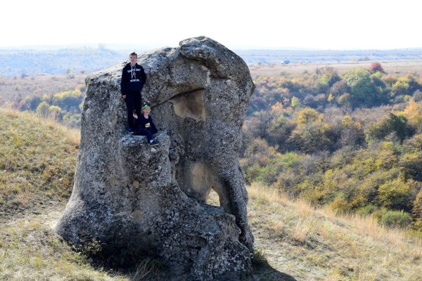 Александровские каменные столбы